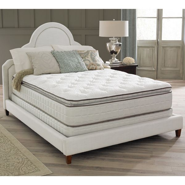 Spring Air Premium Collection Noelle Pillow Top King-size Mattress Set http://www.overstock.com/9537823/product.html?CID=245307