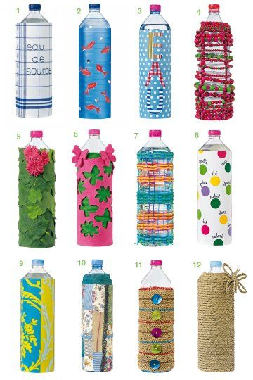 les 43 meilleures images propos de bouteille plastique sur pinterest bouteilles d 39 eau. Black Bedroom Furniture Sets. Home Design Ideas