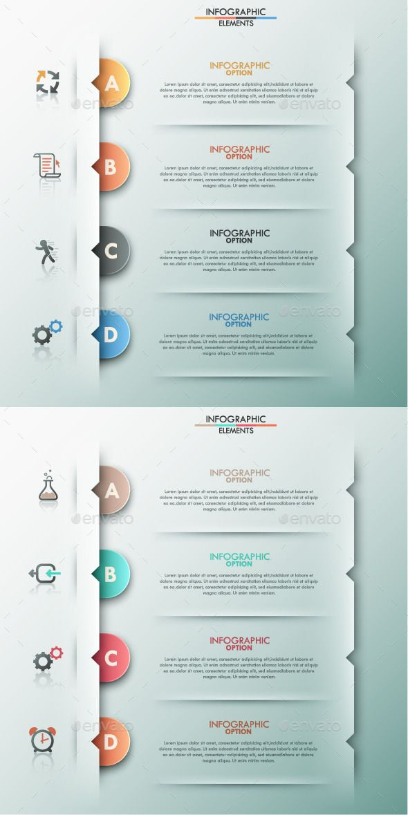 Modern Infographic Options Template (2 Items) — Vector EPS #round #concept • Available here → https://graphicriver.net/item/modern-infographic-options-template-2-items/9311890?ref=pxcr