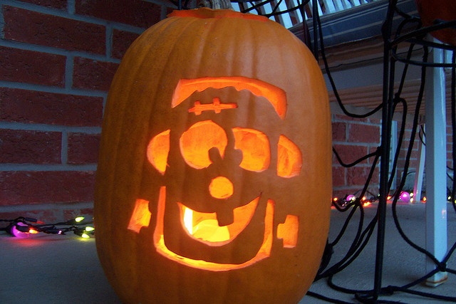 Frankenstein Jack O Lantern Jack O Lanterns Pinterest