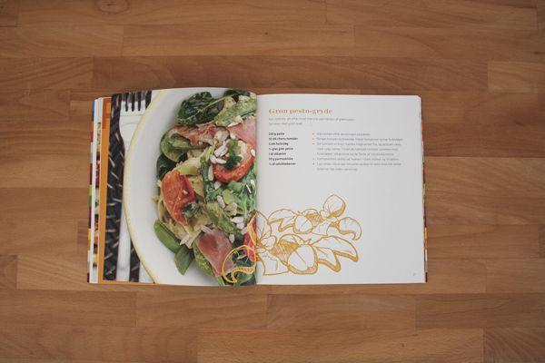 Cookbook - MS, KOST & LIVSSTIL by Kasper Vestergaard, via Behance