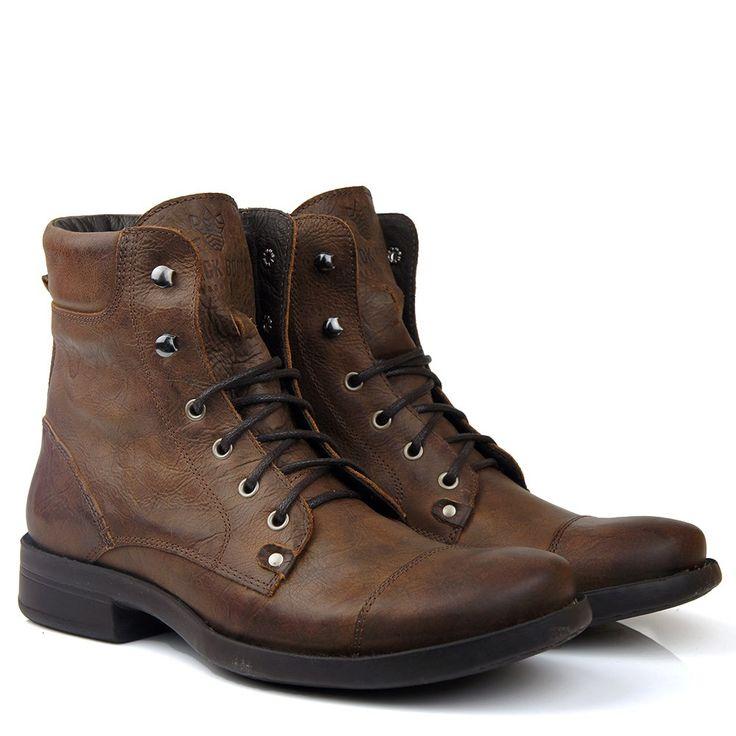Black Boots - Bota Black Boots Bm70 Castanho - BlackBoots