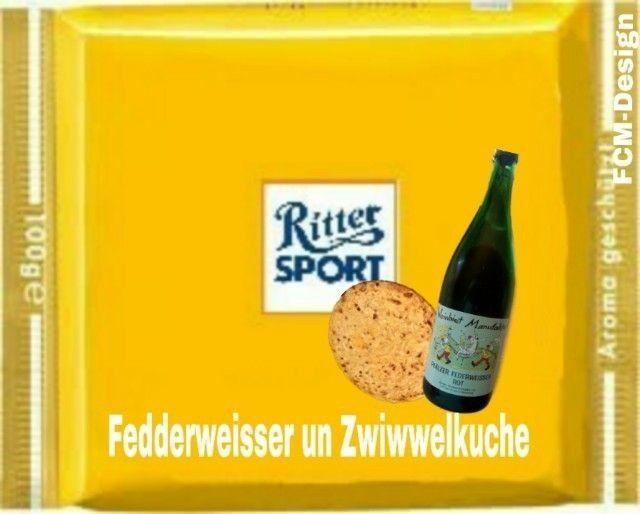 Ritter Sport Sprüche