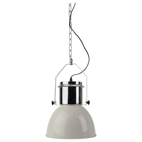 EUR 14.95 - hanglamp industrieel design rvs E27 wit - 100 Nieuwste - Action Nederland B.V.