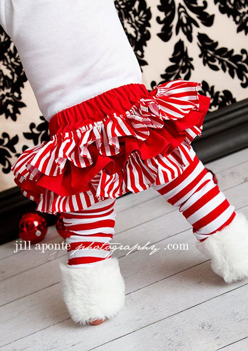 Baby Christmas outfit. So cute!
