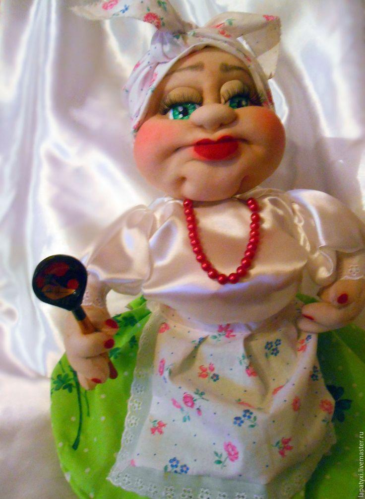 Купить Кукла мини бар - кукла ручной работы, мини бар, ярко-зелёный, подарок