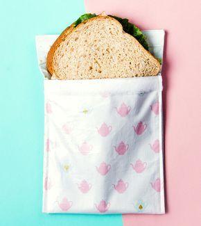 Tutos Zéro déchets: sac à sandwich, tampon démaquillant et sac à vrac