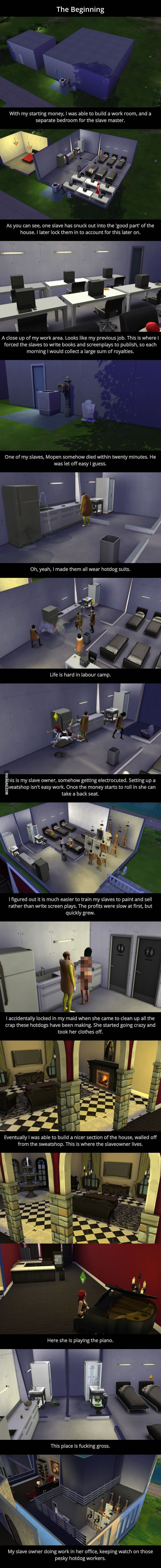 The Sims Sweatshop - 9GAG                                                                                                                                                                                 More