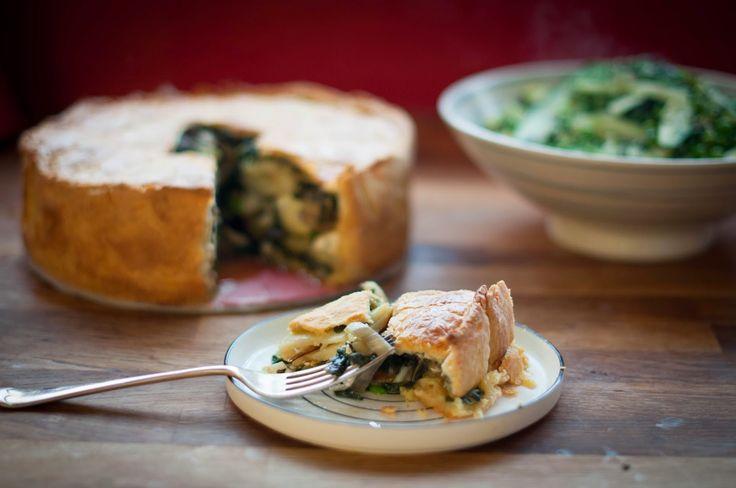 Torta Pasqualina (Italian Vegetable Pie)