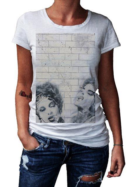 HERMAN EPIS - LE PLAISIR - T-Artist Collection - Author T-Shirt #doubleexcess #hermanepis #artist #art #artfashion #fashion #style #workofart #tshirt #tee #womenstshirt #womensclothing #womenswear #womensfashion #alternativetshirt #alternative #elegant #madeinprato #madeinitaly
