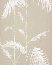 Palm Leaves Taupe/ White från Cole & Son 895 kr