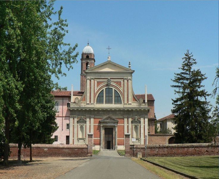 Bosco Marengo. Monumental building Santa Croce, 1500