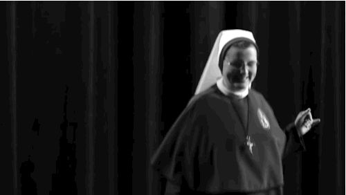 And just having a FUN, jolly ol' time!!!!! | These Three Nuns Dancing, Jumping On A Trampoline, And Rapping Will Make You Smile