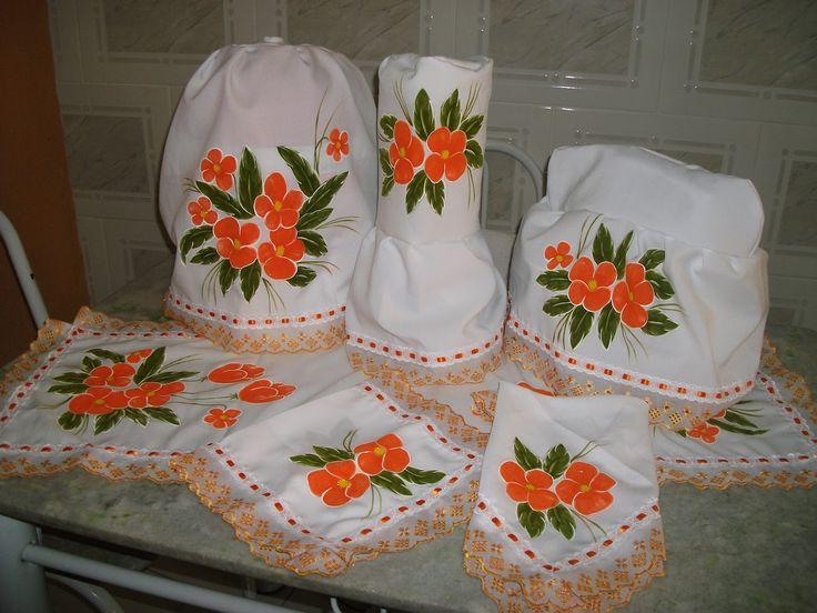 Dalva taller cia kit de cocina pintura en tela pa os - Pintura de cocina ...