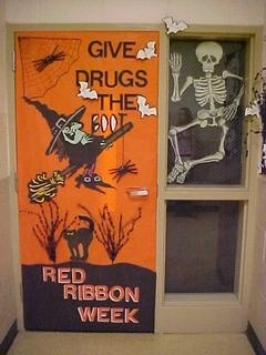 148 Best Images About Red Ribbon Week Door Decorating