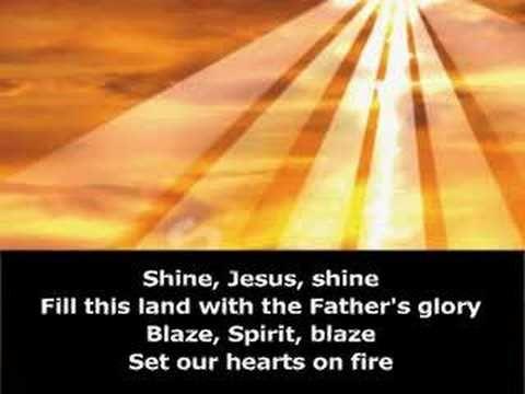 ▶ Shine Jesus Shine - Music Video - YouTube