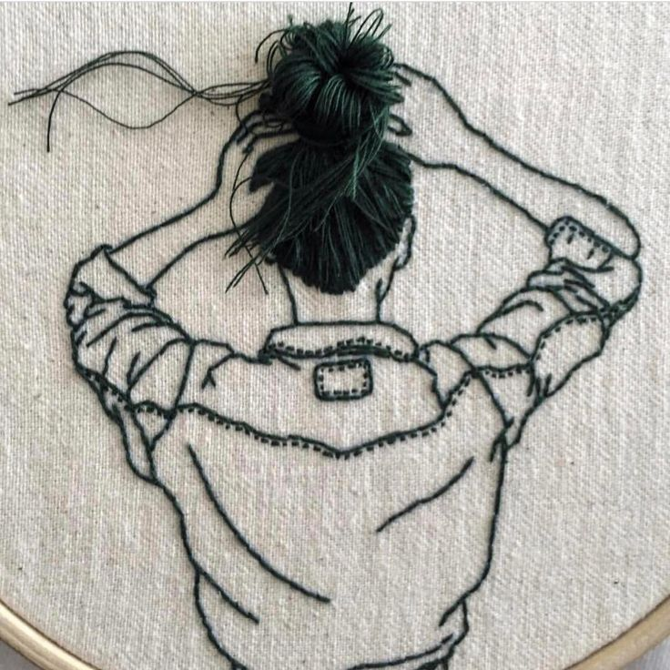 """50.2k Likes, 160 Comments - Instagram Art Featuring Page (@arts_help) on Instagram: """"Embroidery  By @_______ism  _"""""""