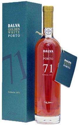 Dalva Golden White Colheita 1971. Le dernier né des colheitas blancs de chez Dalva. Édition limitée et confidentielle.