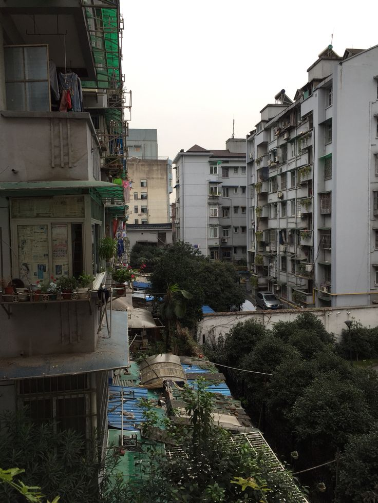 View from my hotel in Hangzhou, China.