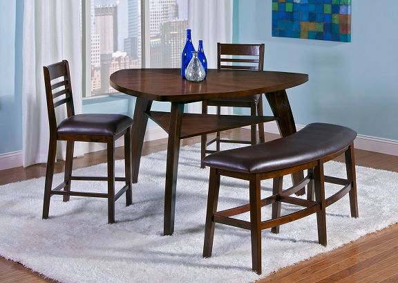 Delano Dining Room Counter Height Table   Value City Furniture