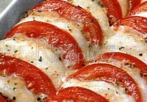 Zapečená rajčata s mozzarellou Recepty.cz - On-line kuchařka