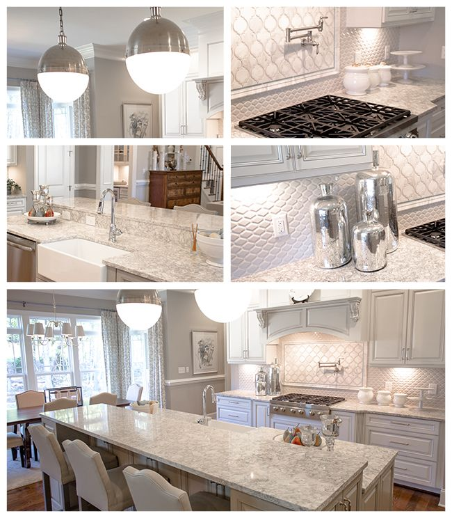 <p>We must admit, this is truly one of our favorite kitchen designs to date! From the classic color palette to the inviting details, Cambria's Berwyn quartz is truly a majestic design. Its dense and earthy shades of creams, grays, and topes perfectly complement this kitchen's neutral accents and stainless steel fixtures. Our next feature in our Homeowner Spotlight Series is an absolute stunner!</p>