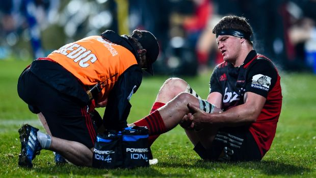 Lions tour: Injury set to keep All Black hopeful Scott Barrett out for another week