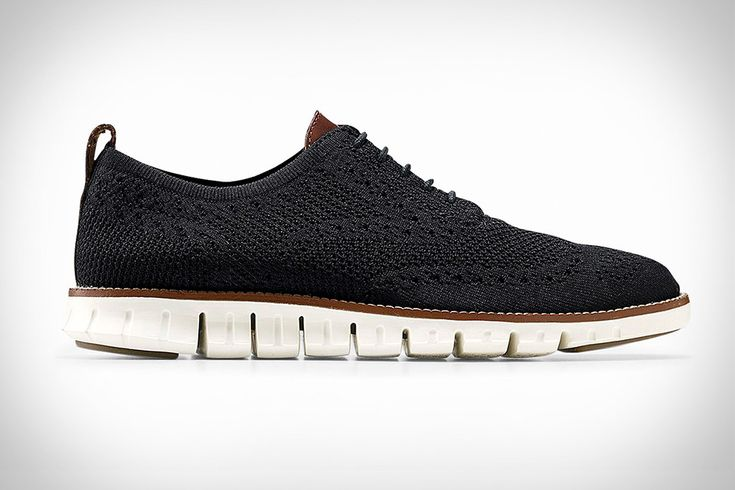 Cole Haan's Zerogrand line already had a sneaker-like outsole that flexes with your natural foot movement. The Cole Haan Zerogrand Stitchlite Wingtip Oxford takes the casual comparisons a step farther, replacing the original's leather with a stretch knit upper for...