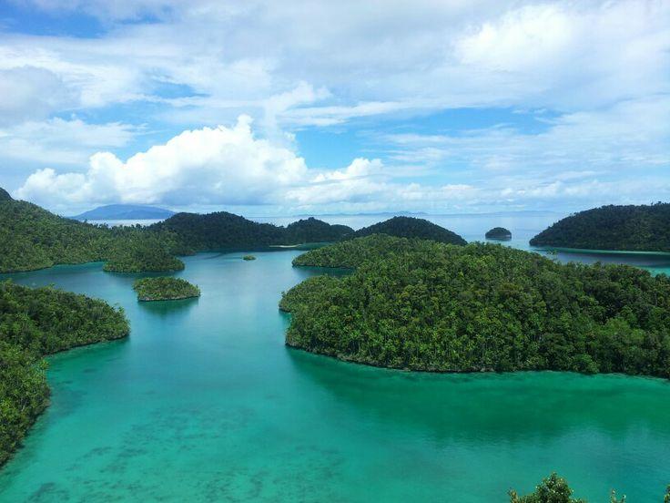 surreal view at raja ampat,Indonesia