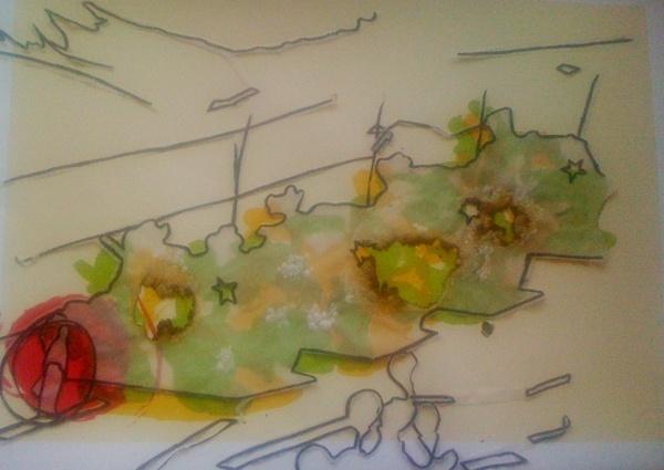 silkscreen by Grawnya Murphy, via Behance