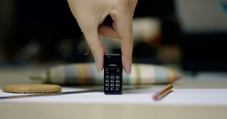 Британский стартап Zanco успешно собрал через площадку Kickstarter средства на выпуск самого маленького мобильного телефона Zanco Tiny T1.