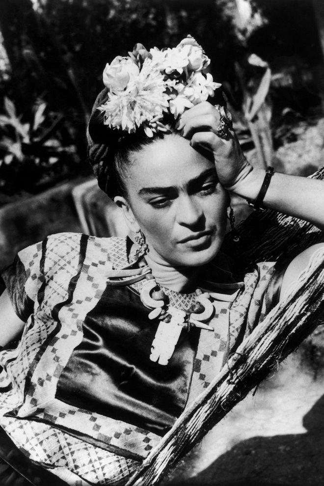 Inspiration Coiffure 1950 Mexican Artist Frida Kahlo Https