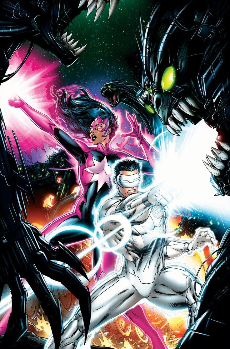 Green Lantern: New Guardians #33 By Jeremy Roberts *