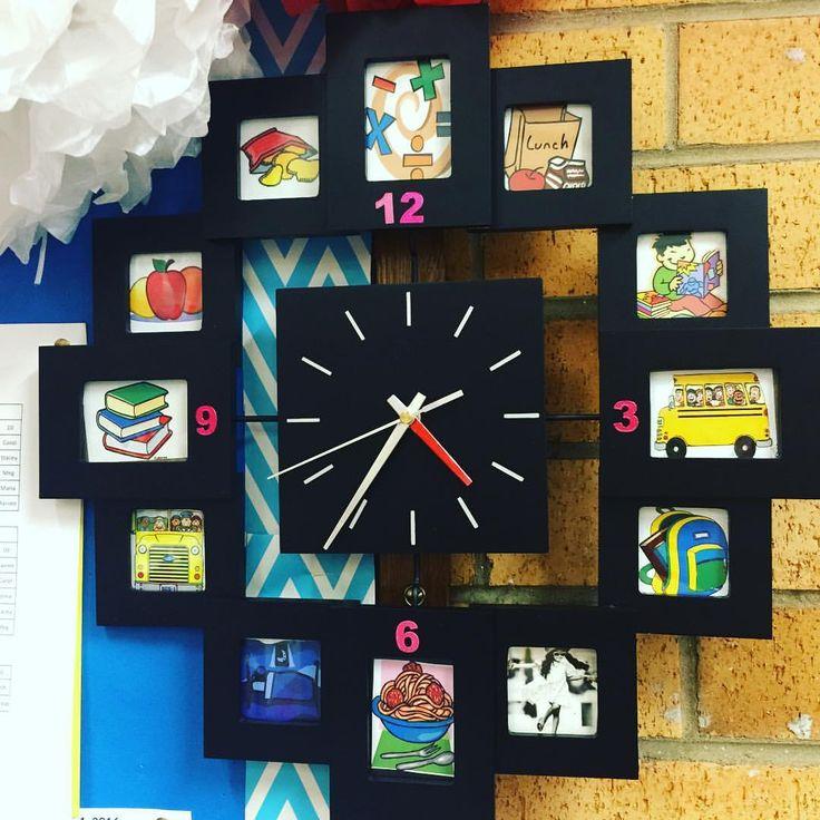 My new visual clock! ➕ #teachersofinstagram #teachersofig #teachersloveinstagram #aussieteachers #aussieteachertribe #teachersfollowteachers #teacherhacks #kindergarten #kindergartenrocks #teachersdownunder