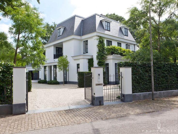 Villa in Bussum, The Netherlands by Marcel Wolterinck.
