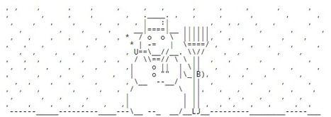 Chris.com - ASCII ART - Christmas - Snow Man - Snow Men - Snowman | ASCII Art | Scoop.it
