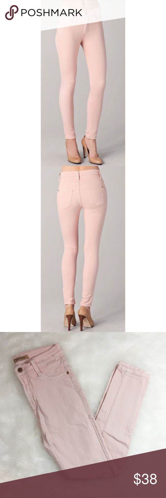 """•James Jeans• Twiggy High Class Skinny Jeans A high-waisted skinny jean tailored to hug your curves and hold you in for your longest legs ever. 28"""" inseam.  EUC - no signs of wear. Made in America. James Jeans Jeans Skinny"""