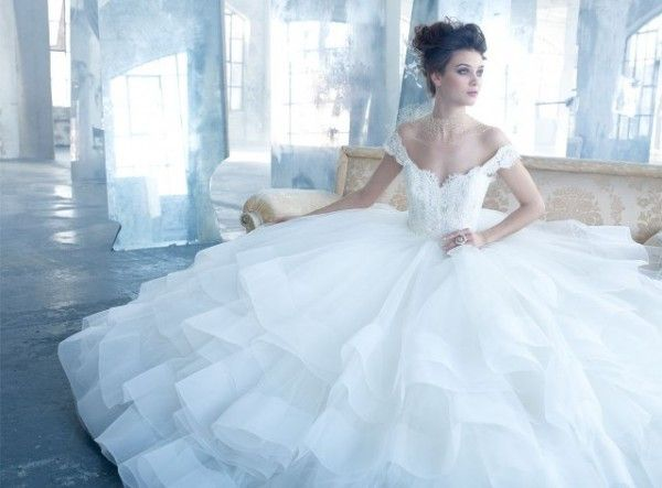 25 best Lazaro images on Pinterest | Wedding frocks, Short wedding ...