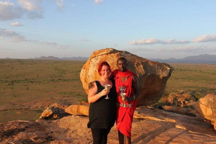 An evening with the Masai, in the beautiful #MasaiMara.