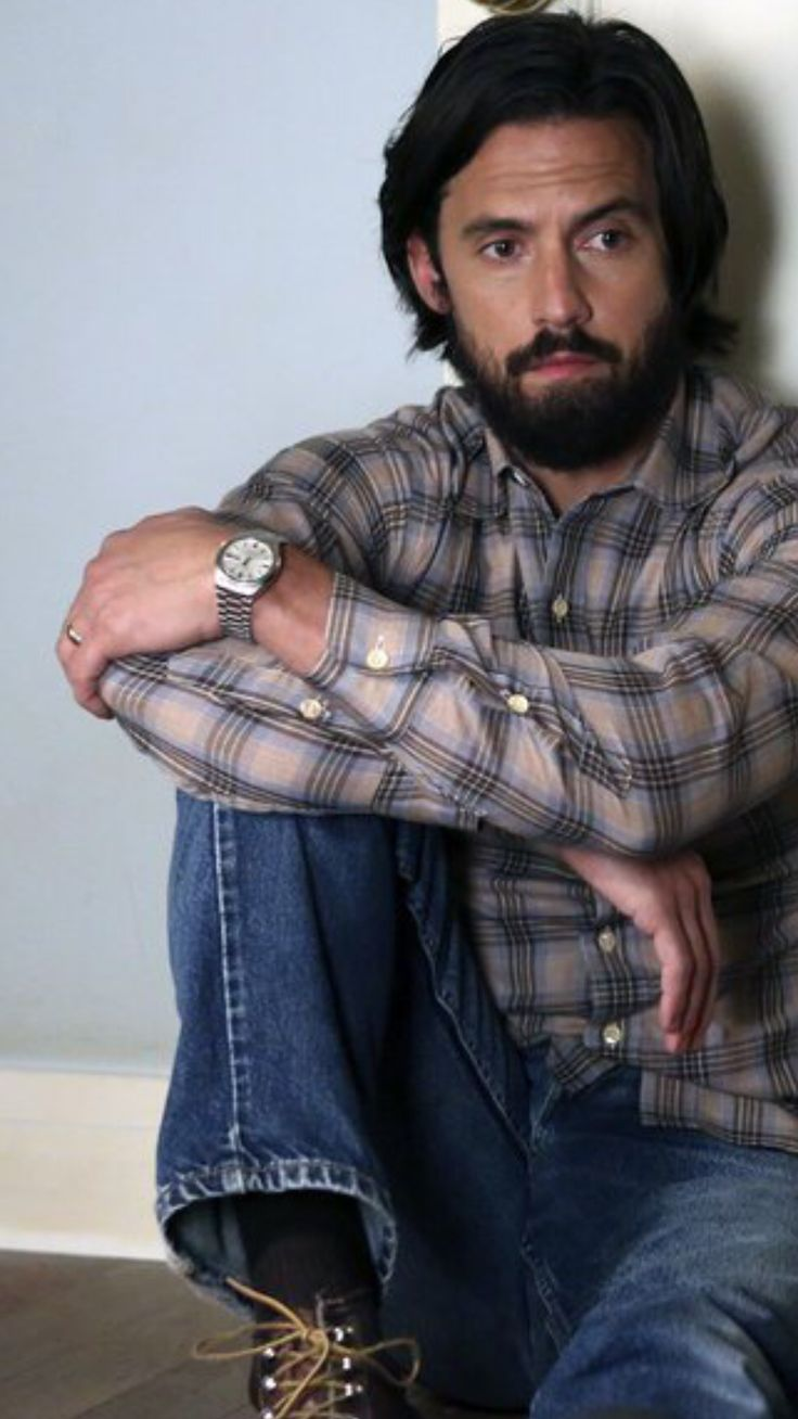 I am seriously loving Milo Ventimiglia as Jack on This is Us. (And as Jess in the Gilmore Girls reunion.)
