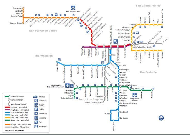 Best 25 Metro Rail Ideas On Pinterest Madrid Turtle: Los Angeles Metro Map 2017 At Infoasik.co