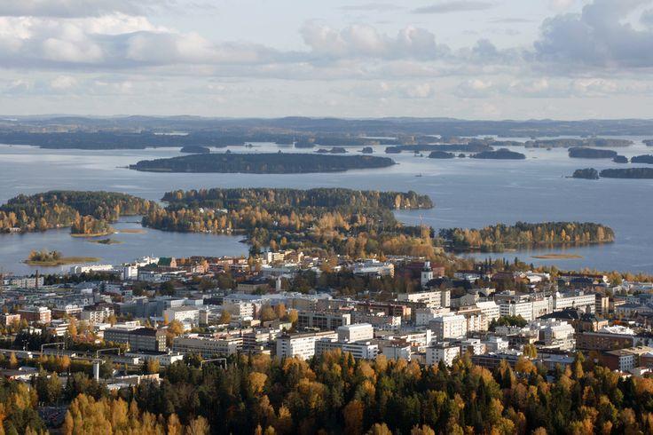 Lakeland Finland: Kuopio in Autumny colors | by JP Korpi-Vartiainen