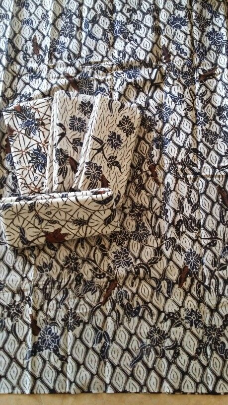 Potean klasik. Handwriting batik madura