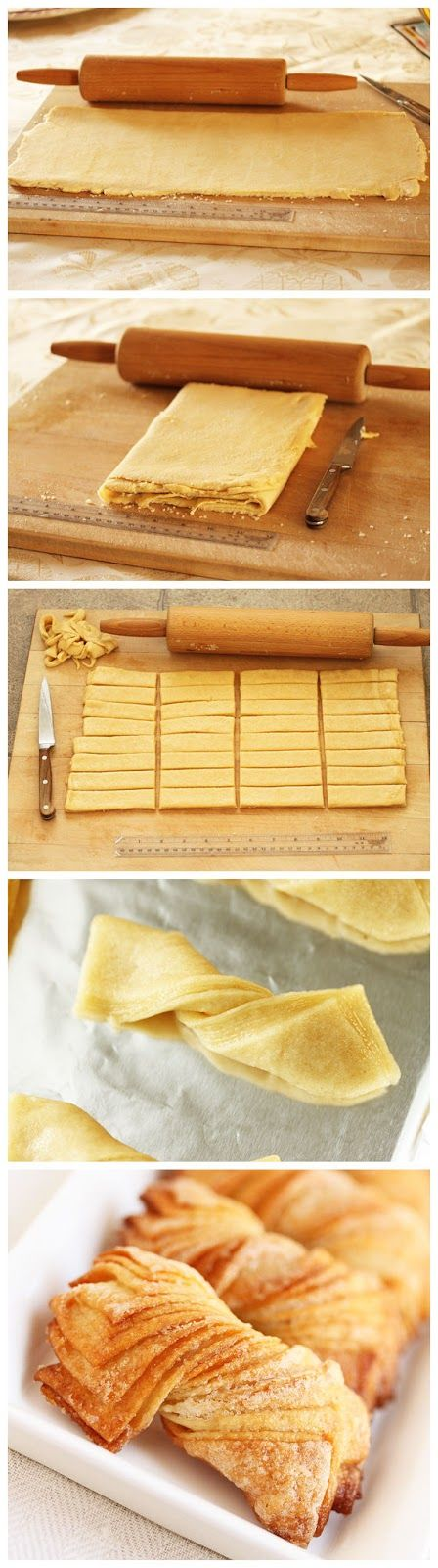 Twisted Cookies ~ With Rolled-In Sugar