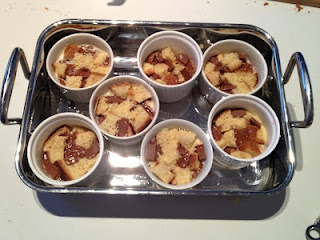 The Misadventurous Maker: Chocolate Brioche Pudding