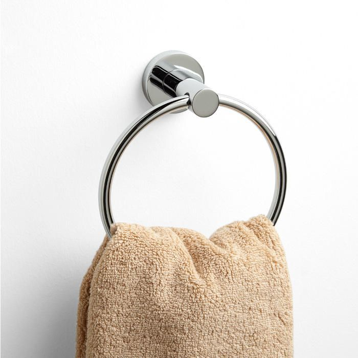 Rotunda Collection Towel Ring - Chrome
