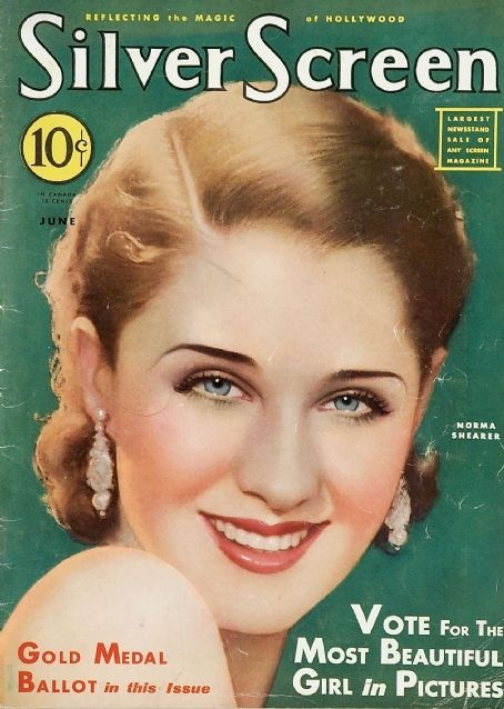Silver Screen Magazine with Norma Shearer 1932