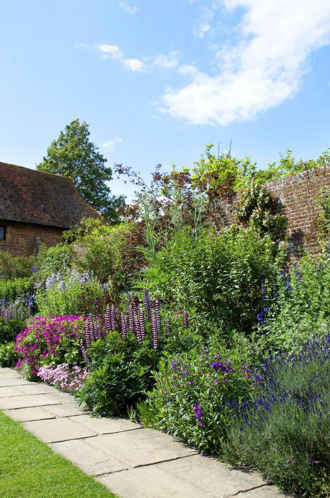 How To Create A Perennial Flower Garden Border Walled Garden