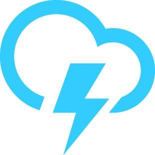 Thunderstorms today! With a high of 85F and a low of 70F.
