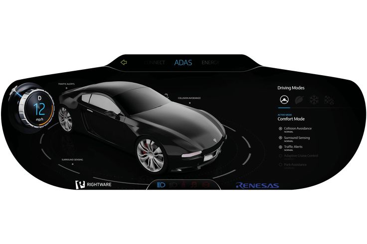 Kanzi UI design software is used by leading car manufacturers including Audi and Nissan for HMI development of IVI and digital instruments clusters.